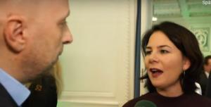 Jens Meyer-Wellmann and Annalena Baerbock