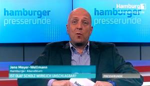 Moderation Jens Meyer-Wellmann TV Talkshow