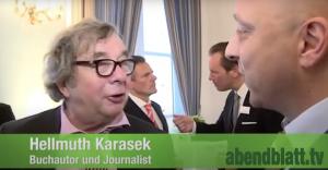 Jens Meyer-Wellmann mit Hellmuth Karasek