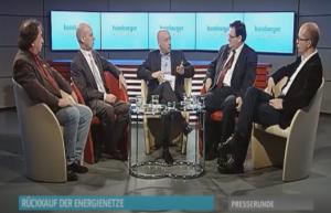 Jens Meyer-Wellmann moderiert TV Talk Show