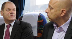 Jens Meyer-Wellmann mit Olaf Scholz